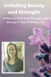About Unfading Beauty and Strength Pin